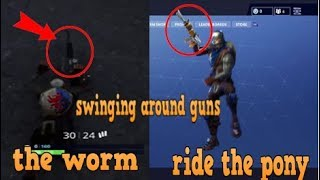 How To Dance In Fortnite Whilst Holding Your Gun! Fortnite Glitch