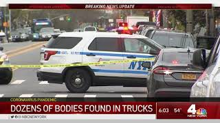 Dozens of Decomposing Bodies Found in Trucks at NYC Funeral Home | NBC New York Coronavirus Coverage