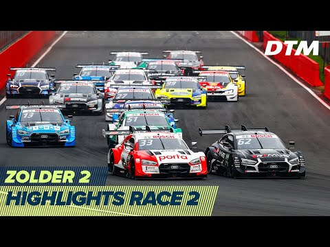 Rast wins four in a row in Zolder - Kubica in 3rd place | Highlights Race 2 | DTM Zolder 2 2020