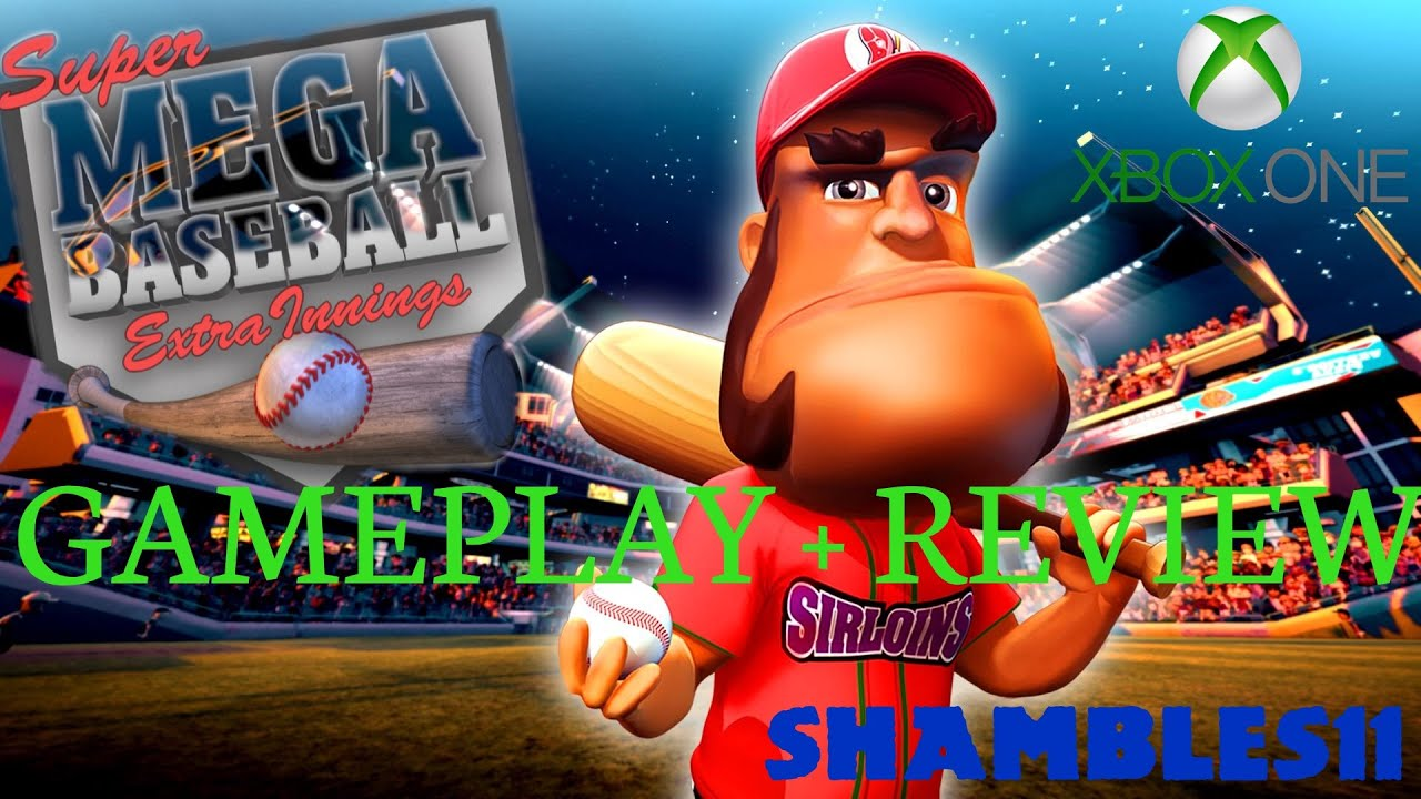 super mega baseball extra innings xbox one gameplay and review