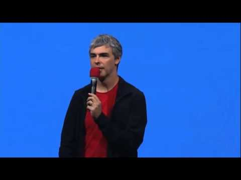 Larry Page Google CEO Complete Q & A at Google I/O 2013