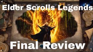 Final Review Elder Scrolls Legends TCG