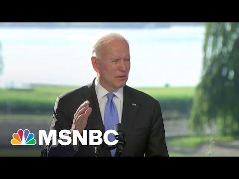 Biden Shares Not-Very-Subtle Threat That He Left On Putin's Lap