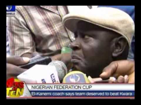 Nigerian Federation Cup:El-Kanemi Coach Says Team Deserved To Beat Kwara United