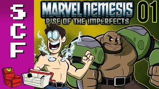 "Marvel Nemesis: Rise of the Imperfects (Part 1) - ""The Best There Is??"" - Super Couch Fighters: AM!"