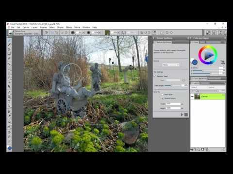 Corel Painter 2018 Digital Art Software NEW Texture Synthesis