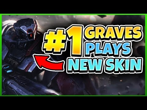 BEST GRAVES WORLD TRIES NEW SKIN! (PRAETORIAN GRAVES)