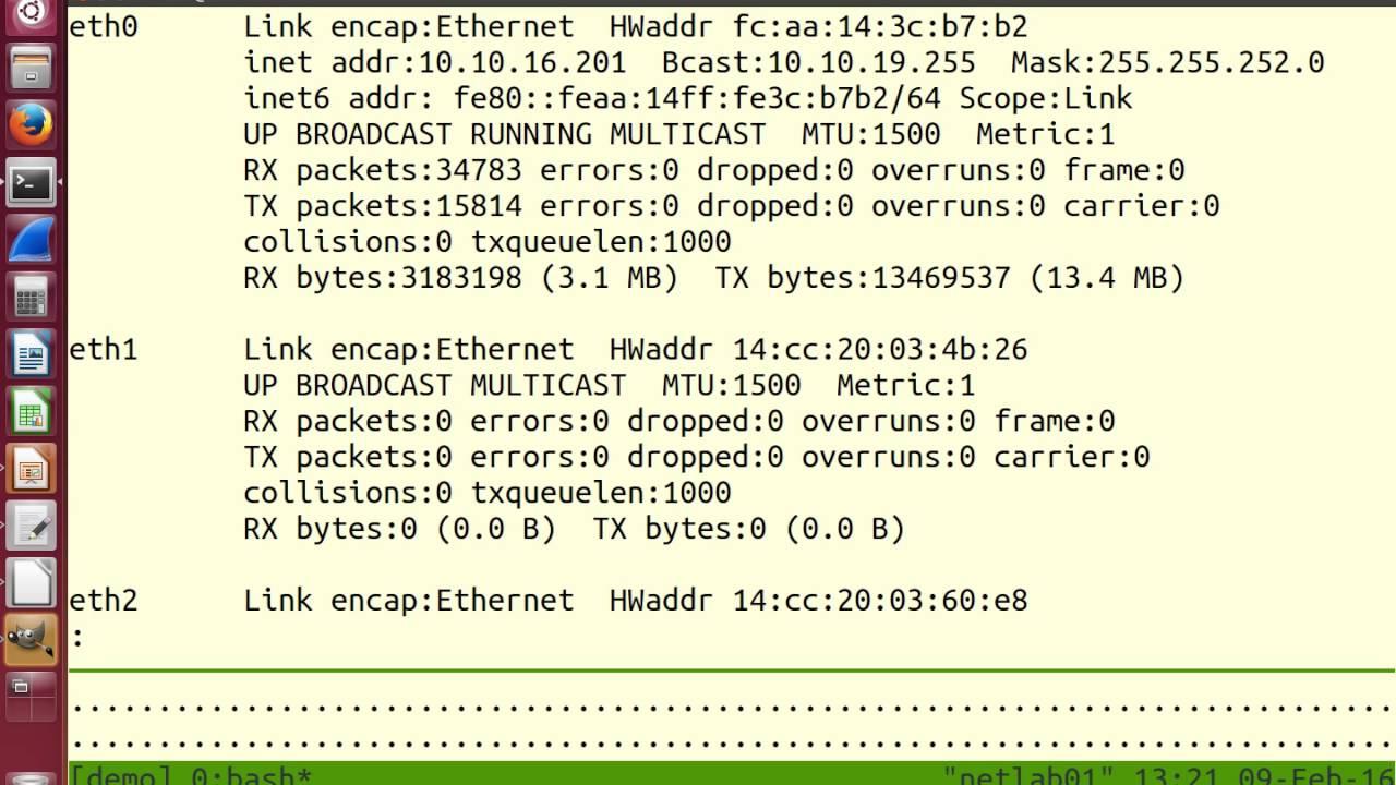 Packet Capture: tcpdump (1 of 3)
