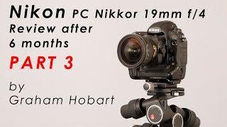 видео PC Nikkor 19mm F4E ED