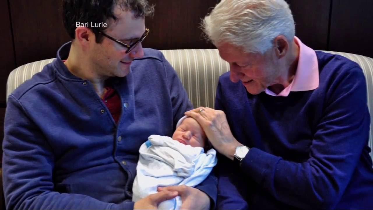 Chelsea Clinton Baby Photos Youtube