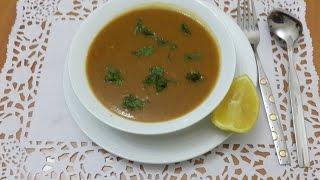 Recette Facile De Harira Algerienne/harira Soup/طريقة تحضير الحريرة الجزائرية