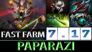Paparazi Medusa Fast Farm Carry Dota 2 7.17