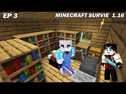 On doit réussir à être en diamant sur Minecraft Survie en LIVE ! Ep3