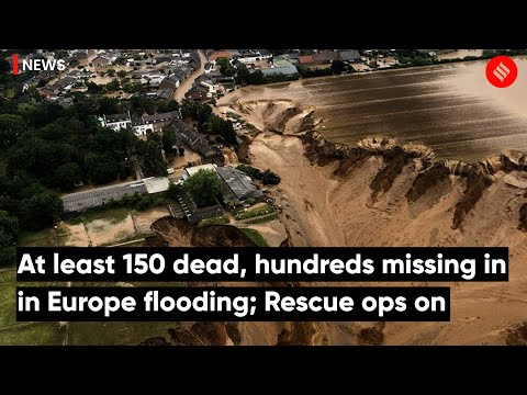 At Least 150 Dead, Hundreds Missing in Europe Flooding; Rescue Ops On
