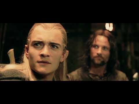 반지의제왕 명장면)레골라스의 사과, 엘프 지원군 도착 (Lord of the rings2 the two towers: alliance with elves again)