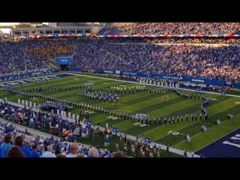 2016 University of Kentucky Wildcat Marching Band Pregame