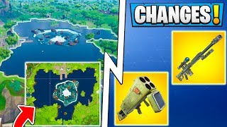 *ALL* Fortnite 6.02 Changes! | New Map POI, Quad Launcher Gameplay, Update!