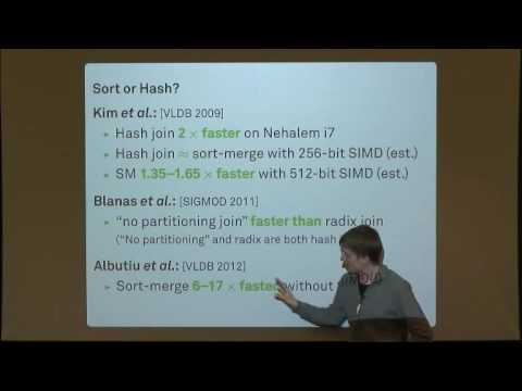Main-Memory Join Algorithms: Sort or Hash?