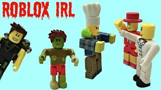 Roblox in Real Life: Fight! Youtubers vs. Pizza Brothers & Alex Meep, Roblox Toys #roblox