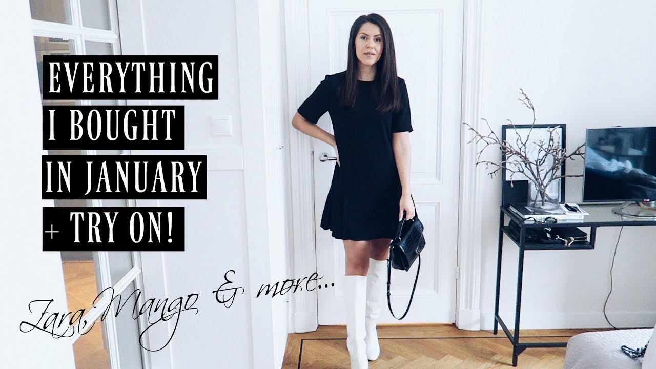 1a535bdf7d3952 SHOPLOG! What i bought in Januari 2019 ZARA MANGO ASOS   MORE ...