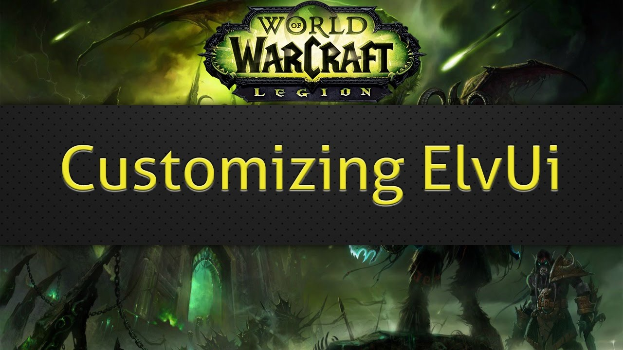 How To Make Custom Text Elvui