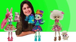 Ayşe'nin oyuncak mağazası - Enchantimals! Kız oyuncakları.