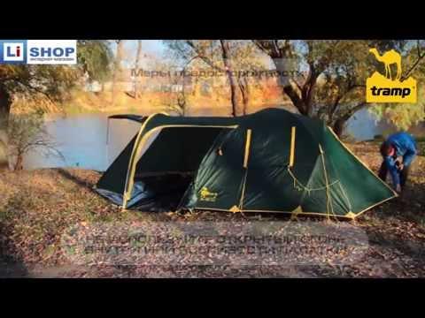 Видеообзор палатки TRAMP GROT B