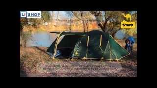 видео купить палатку tramp grot