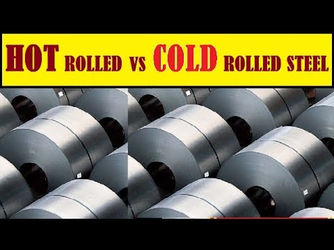 THE DIFFERENCE BETWEEN HOT ROLLED AND COLD ROLLED STEEL ~ HOT ROLLED STEEL ~ COLD ROLLED STEEL