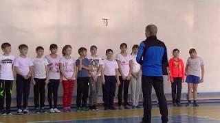 Урок по физической культуре. 5 класс. Учитель Казанцев А.Е.
