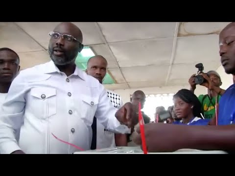 George Weah wins presidential election in Liberia