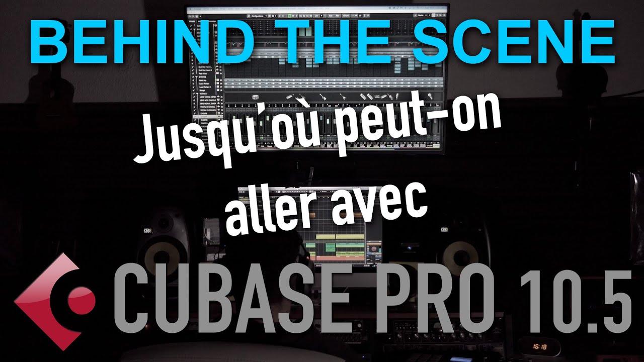 Behind the scene : Une musique faite uniquement avec Cubase 10.5 #cubase #steinberg #compositeur