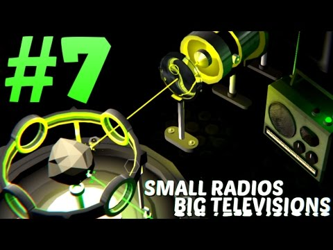Small Radios Big Televisions Gameplay - Part 7 | ALPHA BETA GAMMA TAPES FOUND! | Indie Game | SRBT