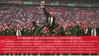 Anécdotas: El presidente que unió sudáfrica con el Rugby | Citas Deportivas