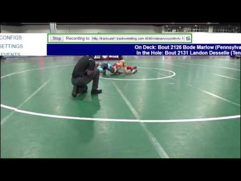 2126 Novice 75 Bode Marlow Pennsylvania vs Nicholas Orejola New Jersey 8571719104