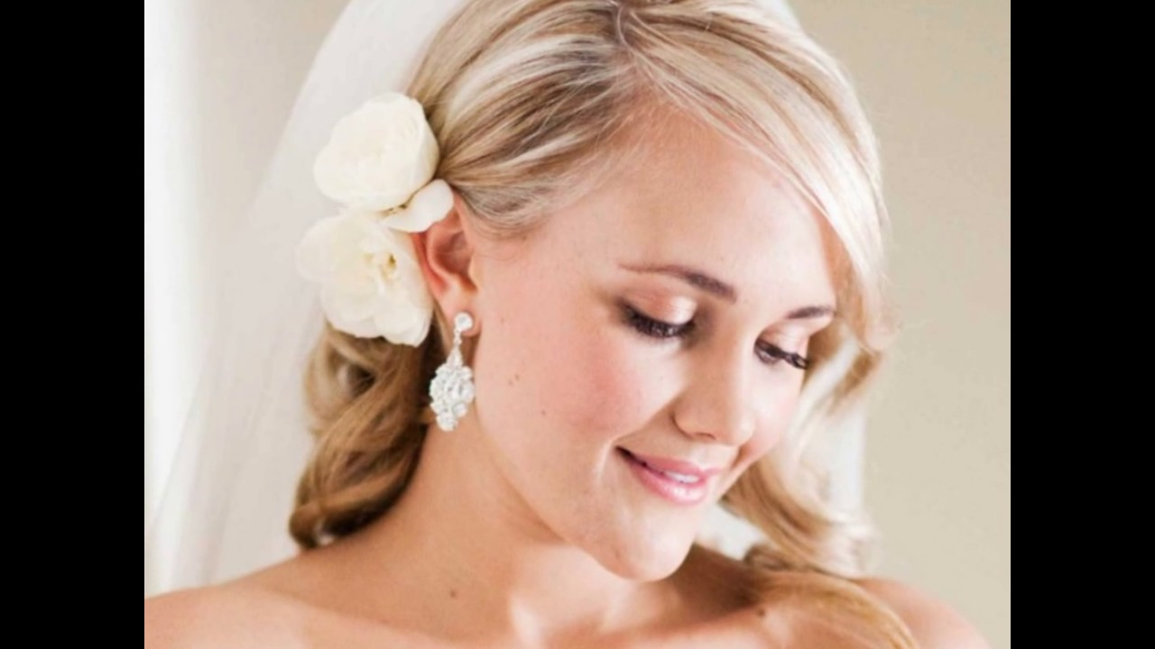 Wedding Hairstyles Thin Hair Youtube