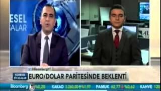 Alb Forex Analisti Rıdvan Baştürk EURO/DOLAR Paritesi - Bloomberg HT