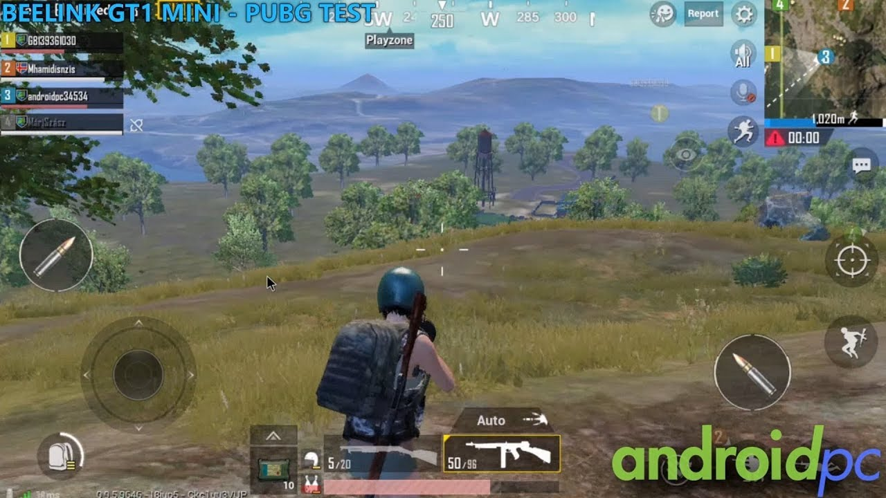PUBG MOBILE on Android, compatibles TV-Box and how to play with