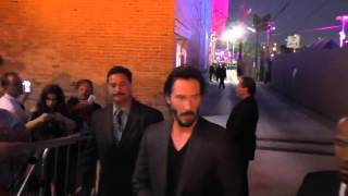 Keanu Reeves outside Jimmy Kimmel Live in Hollywood