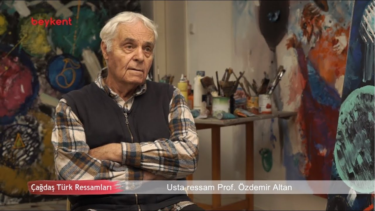 çağdaş Türk Ressamları 21bölüm Prof özdemir Altan