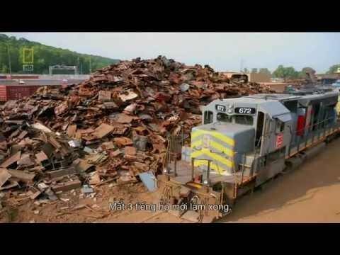 MegaStructures - Train Wreck (National Geographic Documentary)