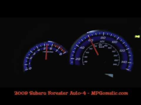 Subaru Forester 0-60 MPH