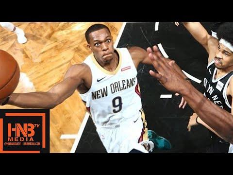 New Orleans Pelicans vs Brooklyn Nets Full Game Highlights / Feb 10 / 2017-18 NBA Season