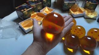 Unboxing Esferas do Dragão Tamanho Real - Dragon Ball Z Real Size. By: ALIEXPRESS