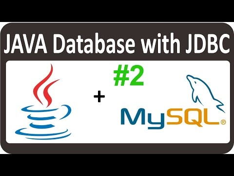 JAVA JDBC Tutorial for beginners  - Connect to MySQL With Java 02