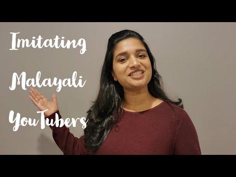Imitating Malayali Youtubers