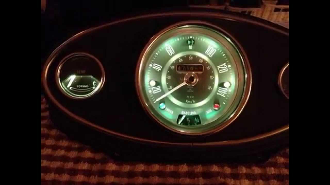 Iluminacion rgb para cuadros de coches clasicos authi - Mini clasico para restaurar ...
