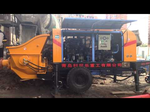 New SANY DHBT Stationary Concrete Pump