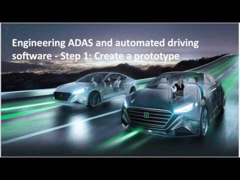 Engineering ADAS and automated driving software
