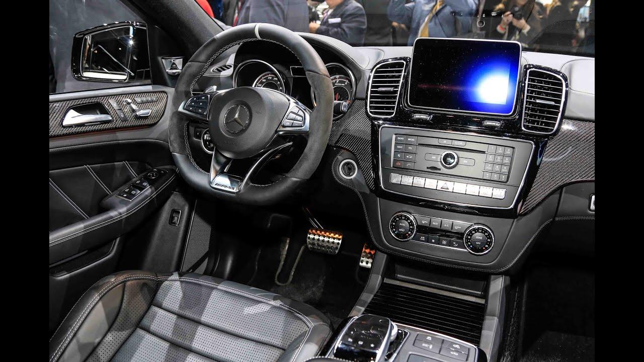 2016 Mercedes-Benz GLE 63 AMG Interior - YouTube